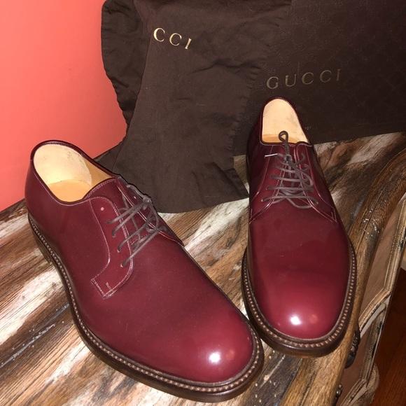 034a465152a Gucci Other - Authentic Gucci college scarletto Oxford shoe